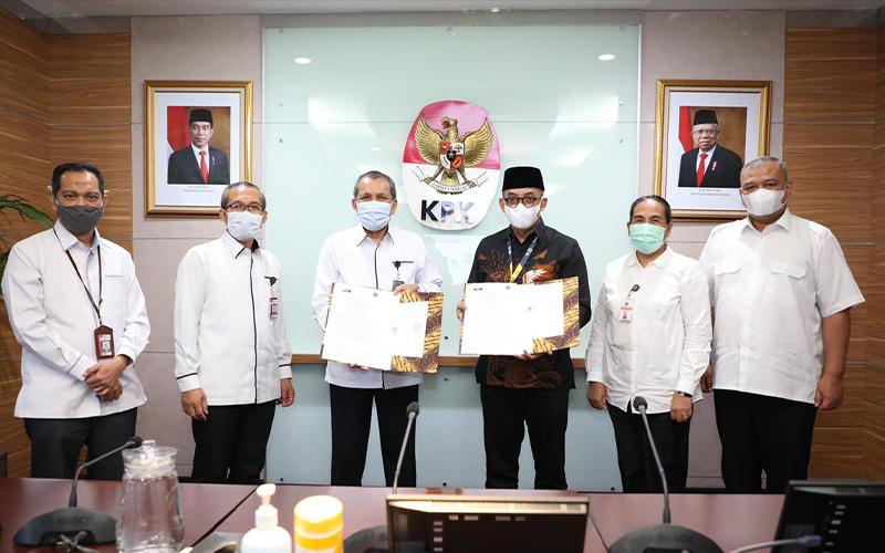 Saling Tukar Informasi, DJP dan KPK Jalin Kerja Sama