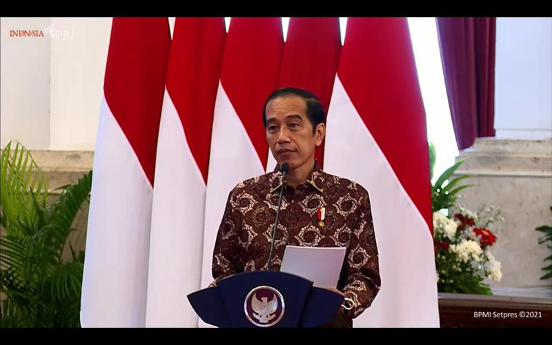 Di Depan Para Bupati, Jokowi Ingatkan Soal Konsolidasi Anggaran