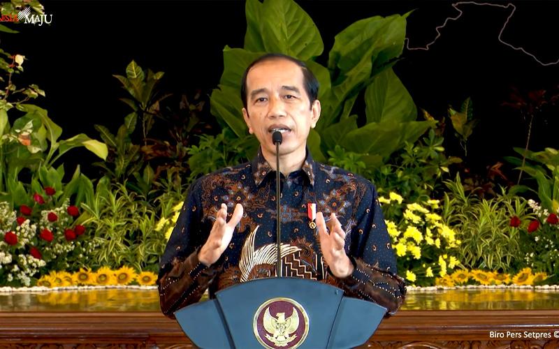 Kuartal II/2021, Jokowi: Ekonomi Paling Tidak Harus Tumbuh di Atas 7%