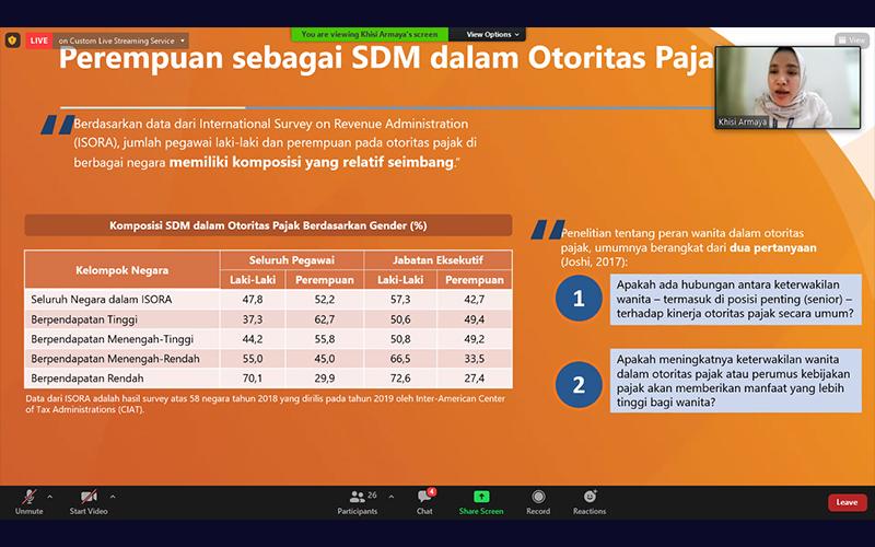 Soal Peran Perempuan dalam Sistem Pajak Indonesia, Ini Kata Praktisi