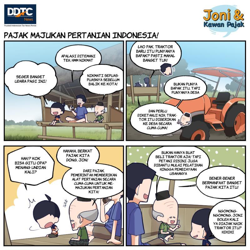 Pajak Majukan Pertanian Indonesia!