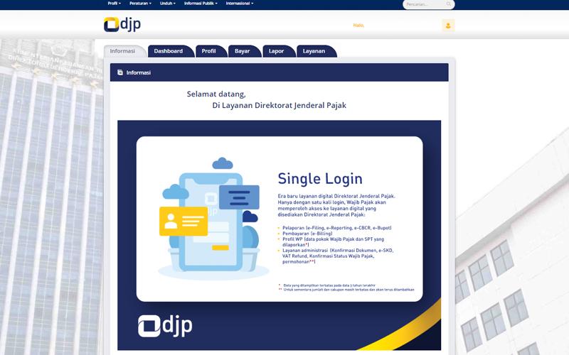 Rencananya, Seluruh Layanan Pajak Bakal Ditaruh di DJP Online