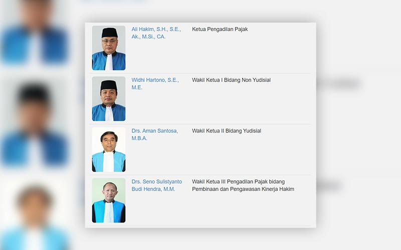 Begini Profil Ketua Pengadilan Pajak yang Baru
