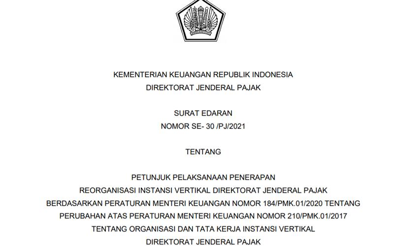 Dirjen Pajak Terbitkan Surat Edaran Soal Persiapan KPP Madya Baru