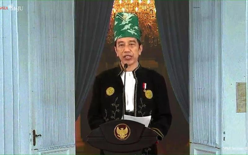 Peringatan Hari Pancasila, Ini Teks Lengkap Pidato Presiden Jokowi