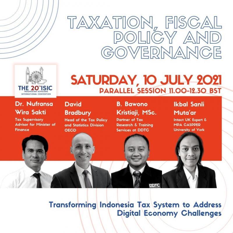 Ada Webinar Internasional Kebijakan Pajak Ekonomi Digital, Tertarik?