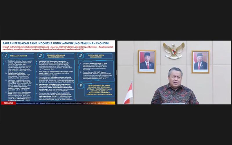 Semester I/2021, Bank Indonesia Beli SBN Rp120,8 Triliun