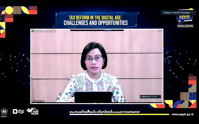Reformasi Perpajakan, Sri Mulyani: APBN Punya Daya Batas