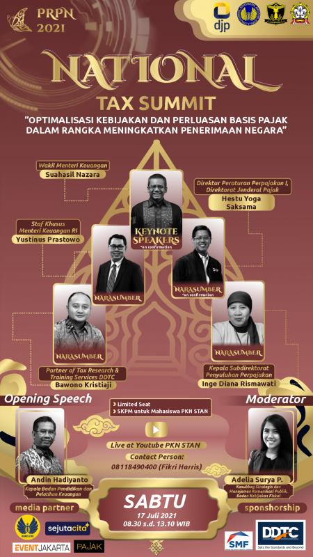 PKN STAN Gelar National Tax Summit, Berminat?