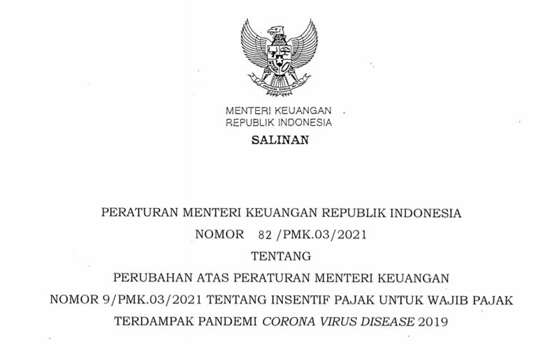 PMK Baru Terbit, Diskon Angsuran PPh Pasal 25 Sampai Desember 2021