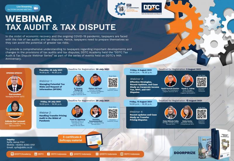Sambut HUT ke-14, DDTC Gelar Free Webinar Series Lagi! Tertarik?