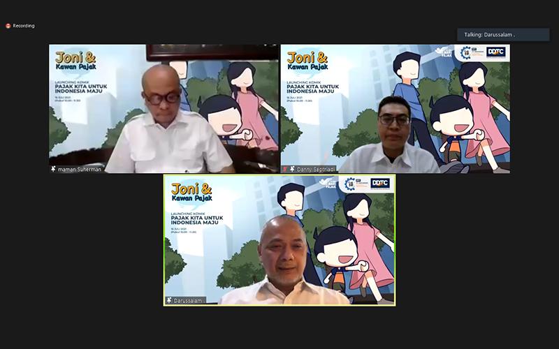 Peluncuran Buku Komik DDTC, 'Membumikan' Bahasan Soal Pajak