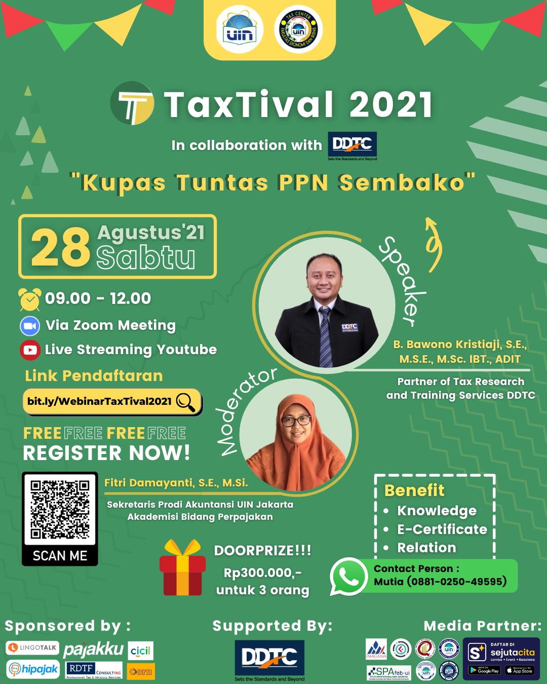 Kupas Tuntas PPN Sembako, Ikuti Webinar Ini Gratis