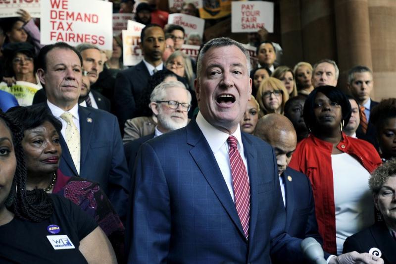 Pajak Tinggi bagi Konglomerat New York Diusulkan