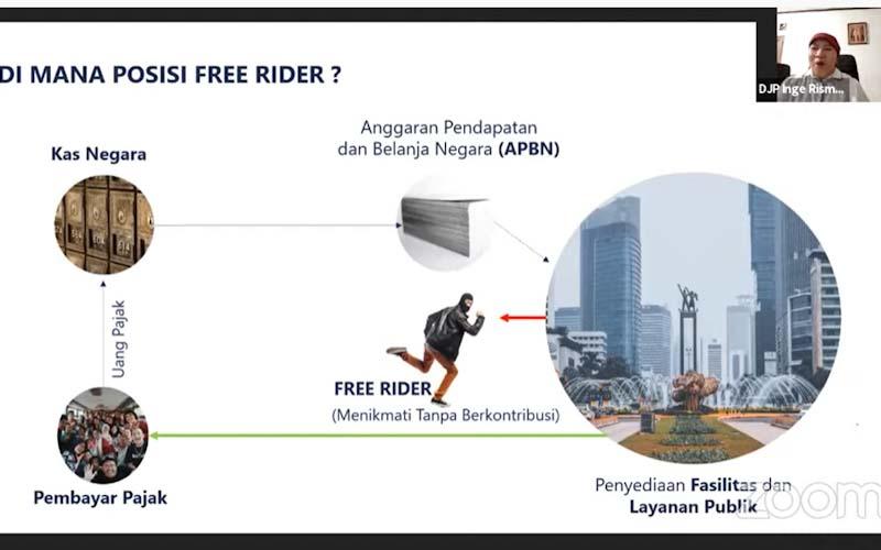 Ditjen Pajak Minta Mahasiswa Tak Jadi Free Rider, Kenapa?