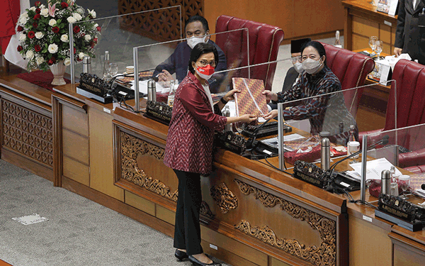 Sah, DPR Setujui RUU APBN 2022 Jadi Undang-Undang
