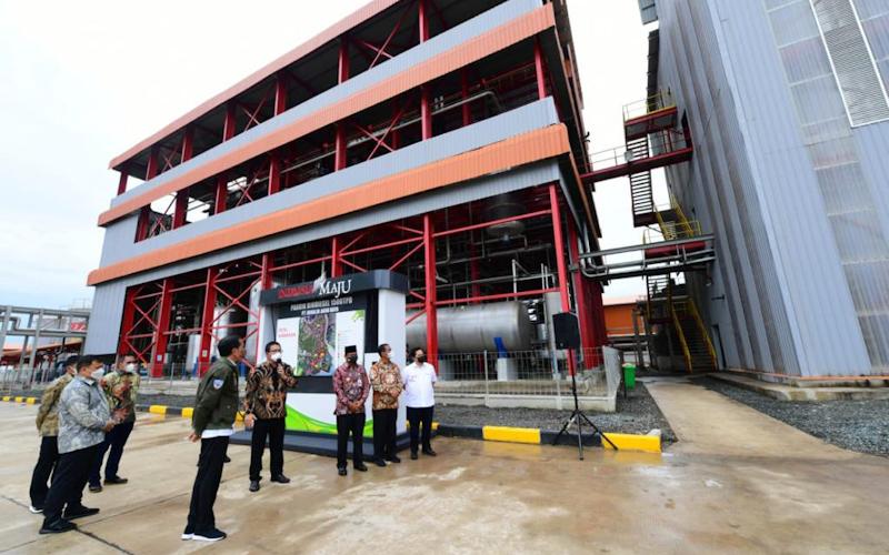 Kurangi Emisi Karbon, Jokowi Dorong Hilirisasi Sawit Lewat Biodiesel