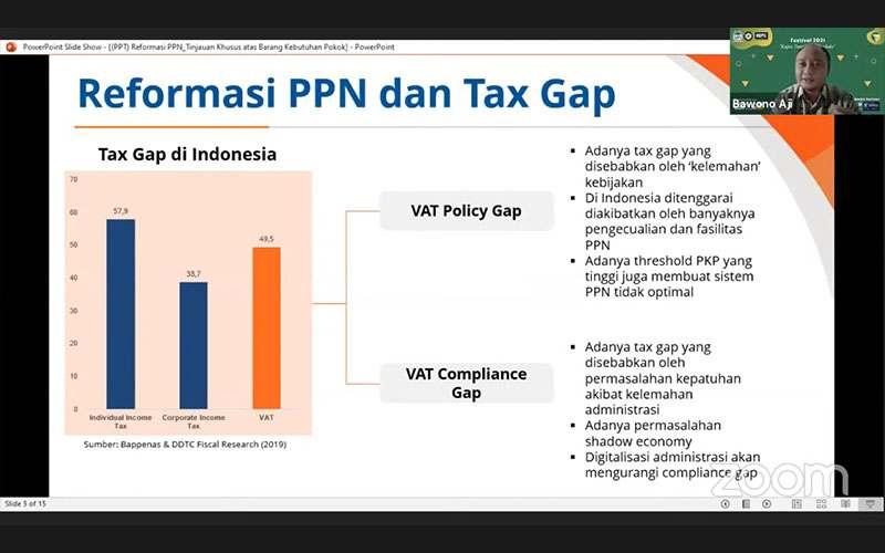 Kurangi Tax Gap PPN, Begini Saran Pakar Pajak