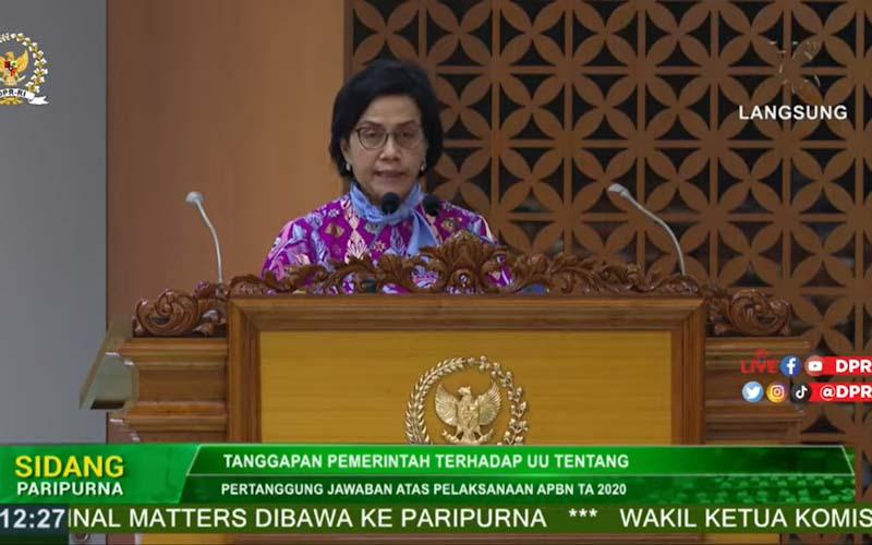 Reformasi Regulasi Pajak, Sri Mulyani Minta Dukungan DPR