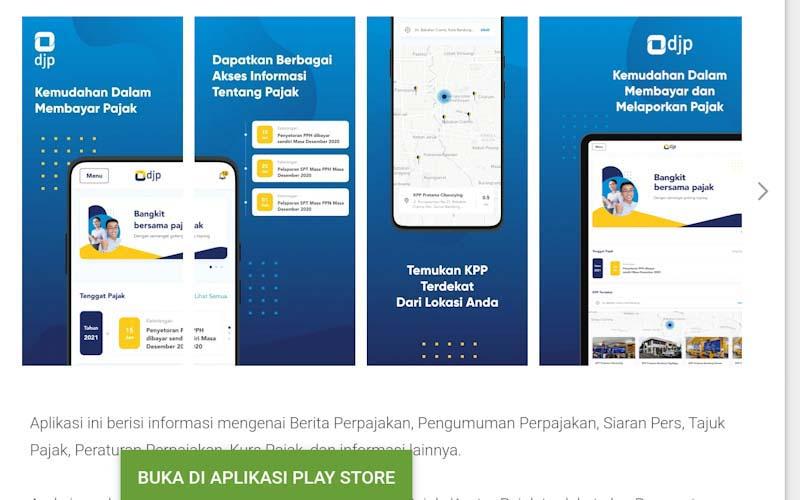 Masuk Pengembangan Tahap 2, Aplikasi M-Pajak Bakal Punya 5 Fitur Baru