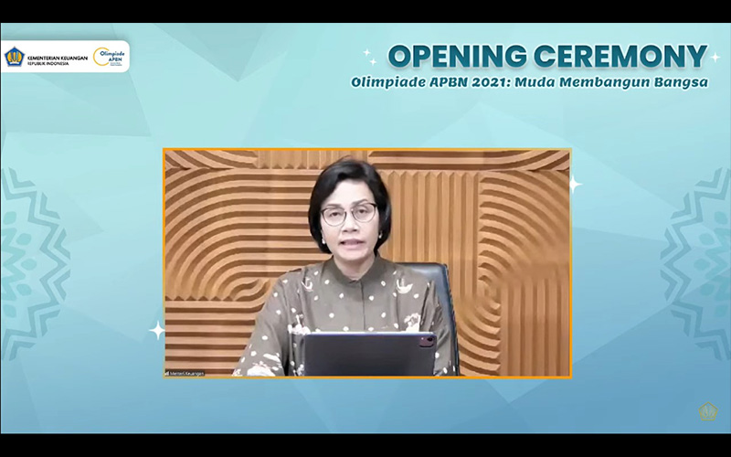 Olimpiade Dimulai, Sri Mulyani Ingin Anak Muda Lebih Paham APBN