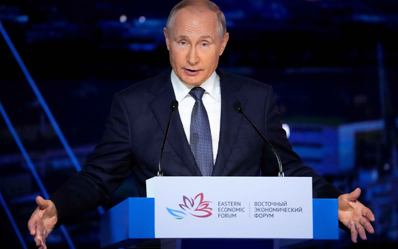 Pacu Investasi, Putin Siap Jorjoran Insentif Pajak di Wilayah Sengketa