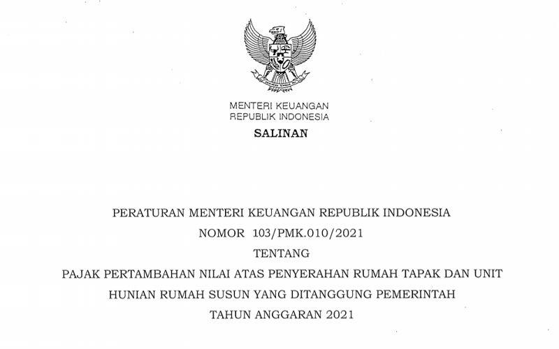 PMK Baru Terbit, Sri Mulyani Resmi Perpanjang Insentif PPN Rumah DTP