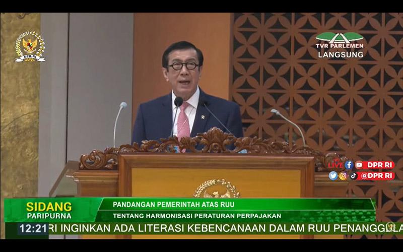 UU HPP Disahkan, Pemerintah Optimistis Tax Ratio Meningkat